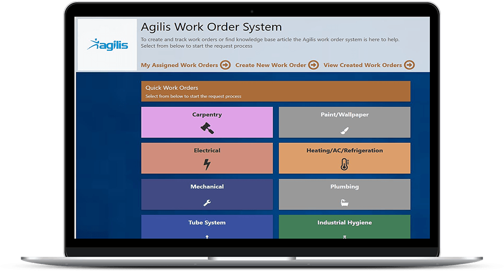 Agilis Work Order System